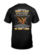 I Am Married To A Grumpy Veteran Short-sleeves Tshirt, Pullover Hoodie, Great Gift T-shirt On Veteran Day