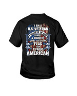 I Am A U.S Veteran Short-Sleeves Tshirt, Pullover Hoodie Great Gift For Veteran's Day