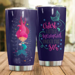 Cute Cartoon Mermaid Tumbler Cutest Little Mermaid Under The Sea Tumbler Gifts For Mermaid Lovers On Birthday Christmas 20 Oz Sports Bottle Stainless Steel Vacuum Insulated Tumbler