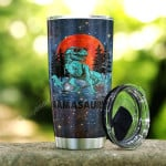 Mamasaurus Tumblers Dinosaurs And The Night Sky Tumbler Gifts For Dinosaur Mom On Mother's Day Birthday Christmas Thanksgiving 20 Oz Sports Bottle Stainless Steel Vacuum Insulated Tumbler