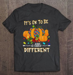 It's Ok To Be A Little Different Pumpkin Autism Awareness 3D All Over Print Hoodie, Zip-up Hoodie