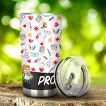 Nurse Proud Nurse Stainless Steel Tumbler, Tumbler Cups For Coffee/Tea, Great Customized Gifts For Birthday Christmas Thanksgiving, Anniversary