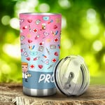Nurse Proud Nurse Tumbler Stainless Steel Tumbler, Tumbler Cups For Coffee/Tea, Great Customized Gifts For Birthday Christmas Thanksgiving, Anniversary