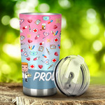 Nurse Proud Nurse Assistant Stainless Steel Tumbler, Tumbler Cups For Coffee/Tea, Great Customized Gifts For Birthday Christmas Thanksgiving, Anniversary