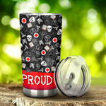 Radiologist Proud Radiologist Stainless Steel Tumbler, Tumbler Cups For Coffee/Tea, Great Customized Gifts For Birthday Christmas Thanksgiving, Anniversary