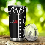 Male Doctor The Owner Is Handsome Tumbler Stainless Steel Tumbler, Tumbler Cups For Coffee/Tea, Great Customized Gifts For Birthday Christmas Thanksgiving, Anniversary
