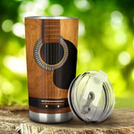Guitar Tumbler Stainless Steel Tumbler, Tumbler Cups For Coffee/Tea, Great Customized Gifts For Birthday Christmas Thanksgiving, Anniversary