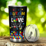 Autism Fight For Autism Awareness Tumbler Stainless Steel Tumbler, Tumbler Cups For Coffee/Tea, Great Customized Gifts For Birthday Christmas Thanksgiving, Anniversary