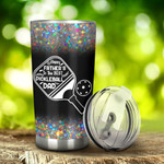 Pickleball Happy Father Day Tumbler Stainless Steel Tumbler, Tumbler Cups For Coffee/Tea, Great Customized Gifts For Birthday Christmas Thanksgiving, Anniversary, Father's Day