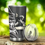 Jiu-jitsu Z Wall Tumbler Stainless Steel Tumbler, Tumbler Cups For Coffee/Tea, Great Customized Gifts For Birthday Christmas Thanksgiving, Anniversary