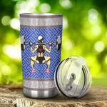 Weightlifting Women Tumbler Stainless Steel Tumbler, Tumbler Cups For Coffee/Tea, Great Customized Gifts For Birthday Christmas Thanksgiving, Anniversary