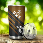 BMX Shinning Tumbler Stainless Steel Tumbler, Tumbler Cups For Coffee/Tea, Great Customized Gifts For Birthday Christmas Thanksgiving, Anniversary