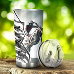 Motocross Z Wall Tumbler Stainless Steel Tumbler, Tumbler Cups For Coffee/Tea, Great Customized Gifts For Birthday Christmas Thanksgiving, Anniversary