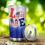 Camping Happy Camper Tumbler Stainless Steel Tumbler, Tumbler Cups For Coffee/Tea, Great Customized Gifts For Birthday Christmas Thanksgiving, Anniversary