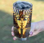 Tutankhamun Pharaoh Tumbler Gifts For Egypt Lovers On Birthday Christmas Thanksgiving 20 Oz Sports Bottle Stainless Steel Vacuum Insulated Tumbler