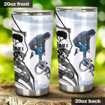 BMX Tumbler Stainless Steel Tumbler, Tumbler Cups For Coffee/Tea, Great Customized Gifts For Birthday Christmas Anniversary