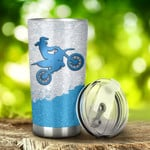 Motocross I'M Just A Girl Who Loves Motocross Tumbler Stainless Steel Tumbler, Tumbler Cups For Coffee/Tea, Great Customized Gifts For Birthday Christmas Anniversary
