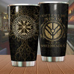 Vegvisir Viking Compass Tumbler Don't Call Me Princess I'm A Shieldmaiden Tumbler Gifts For Viking Lovers On Birthday Christmas 20 Oz Sports Bottle Stainless Steel Vacuum Insulated Tumbler