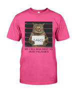 24602 My cell was next to Jean Valjean's Short-Sleeves Tshirt, Pullover Hoodie, Great Gift T-shirt For Thanksgiving Birthday Christmas