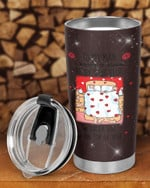 Personalized To My Man,I Promise To Always Be By Your Side Bed Stainless Steel Tumbler Cup For Coffee/Tea, Great Customized Gift For Birthday Christmas Thanksgiving