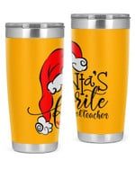 Preschool Teacher, Christmas Stainless Steel Tumbler, Tumbler Cups For Coffee/Tea