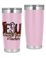 Teacher, Jesus Is The Reason For The Season Stainless Steel Tumbler, Tumbler Cups For Coffee/Tea