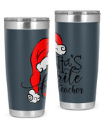 Math Teacher, Merry Christmas Stainless Steel Tumbler, Tumbler Cups For Coffee/Tea, Great Customized Gifts For Birthday Christmas Anniversary