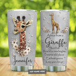 Personalized Advice From A Giraffe Keep Your Chin Up Stainless Steel Tumbler, Tumbler Cups For Coffee/Tea, Great Customized Gifts For Birthday Anniversary