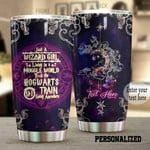 Wicca Tumbler Personalized Wizard Girl Tumbler