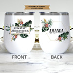 Personalized Accountant Funny Gift Stainless Steel Tumbler, Tumbler Cups For Coffee/Tea, Great Customized Gifts For Birthday Christmas Thanksgiving