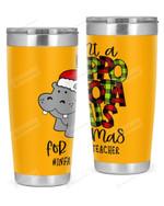 Infant Toddler Teacher, Merry Christmas Stainless Steel Tumbler, Tumbler Cups For Coffee/Tea