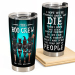 The Boo Crew Personalized Tumbler