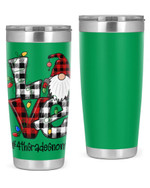 4th Grade Teacher, Merry Christmas Stainless Steel Tumbler, Tumbler Cups For Coffee/Tea