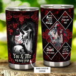 Personalized You And Me We Got This Stainless Steel Tumbler