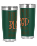 Behavior Analyst, Thankful Blessed Stainless Steel Tumbler, Tumbler Cups For Coffee/Tea