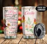 A Mi Hija Spain To My Daughter Personalized Tumbler
