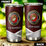 Personalized United States Marine Corps Stainless Steel Tumbler, Tumbler Cups For Coffee/Tea, Great Customized Gifts For Birthday Christmas Thanksgiving, Anniversary