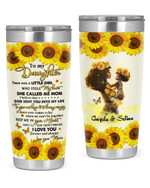Personalized Custom Name Mom To My Daughter Little Girl Stole My Heart Stainless Steel Tumbler, Tumbler Cups For Coffee Or Tea, Great Gifts For Thanksgiving Birthday Christmas