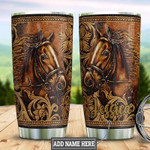Personalized Horse 20oz Stainless Steel Tumbler