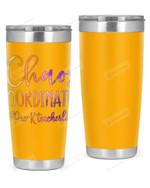 Pre-K Teacher, Chaos Coordinate Stainless Steel Tumbler, Tumbler Cups For Coffee/Tea