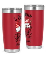 2nd Grade Teacher I Love You Gnome Stainless Steel Tumbler, Tumbler Cups For Coffee/Tea