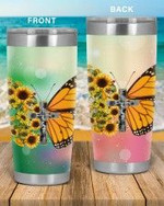 Personalized Faith-Butterfly The Best Gifts For Butterfly Lovers On Birthday Christmas Thanksgiving 20 Oz  Stainless Steel Sports Tumbler