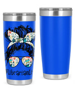 Librarian Stainless Steel Tumbler, Tumbler Cups For Coffee/Tea, Great Customized Gifts For Birthday Christmas Anniversary