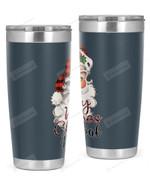 Principal, Santa Christmas Stainless Steel Tumbler, Tumbler Cups For Coffee/Tea