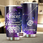 Personalized It's A Cancer Thing You Wouldn't Understand Zodiac Custom Stainless Steel Tumbler