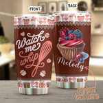 Personalized Baking Stainless Steel Tumbler, Tumbler Cups For Coffee/Tea, Great Customized Gifts For Birthday Christmas Thanksgiving Anniversary