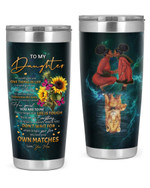 Personalized Custom Name Mom To My Daughter If I Could Give You One Thing In Life Stainless Steel Tumbler, Tumbler Cups For Coffee Or Tea, Great Gifts For Thanksgiving Birthday Christmas
