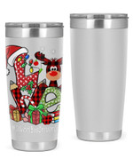 School Bus Driver, Merry Christmas Stainless Steel Tumbler, Tumbler Cups For Coffee/Tea