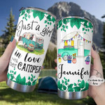 Personalized Camping Stainless Steel Tumbler, Tumbler Cups For Coffee/Tea, Great Customized Gifts For Birthday Christmas Thanksgiving Anniversary