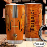 Personalized Violin Stainless Steel Vacuum Insulated Tumbler 20 Oz Gifts For Birthday Christmas Thanksgiving Perfect Gifts For Violin Lovers Coffee/ Tea Tumbler